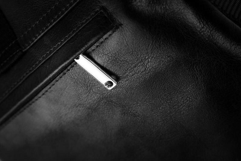 da402c045a340 Skórzana torba na ramię   tablet VALENTIN czarna - 6999298323 ...