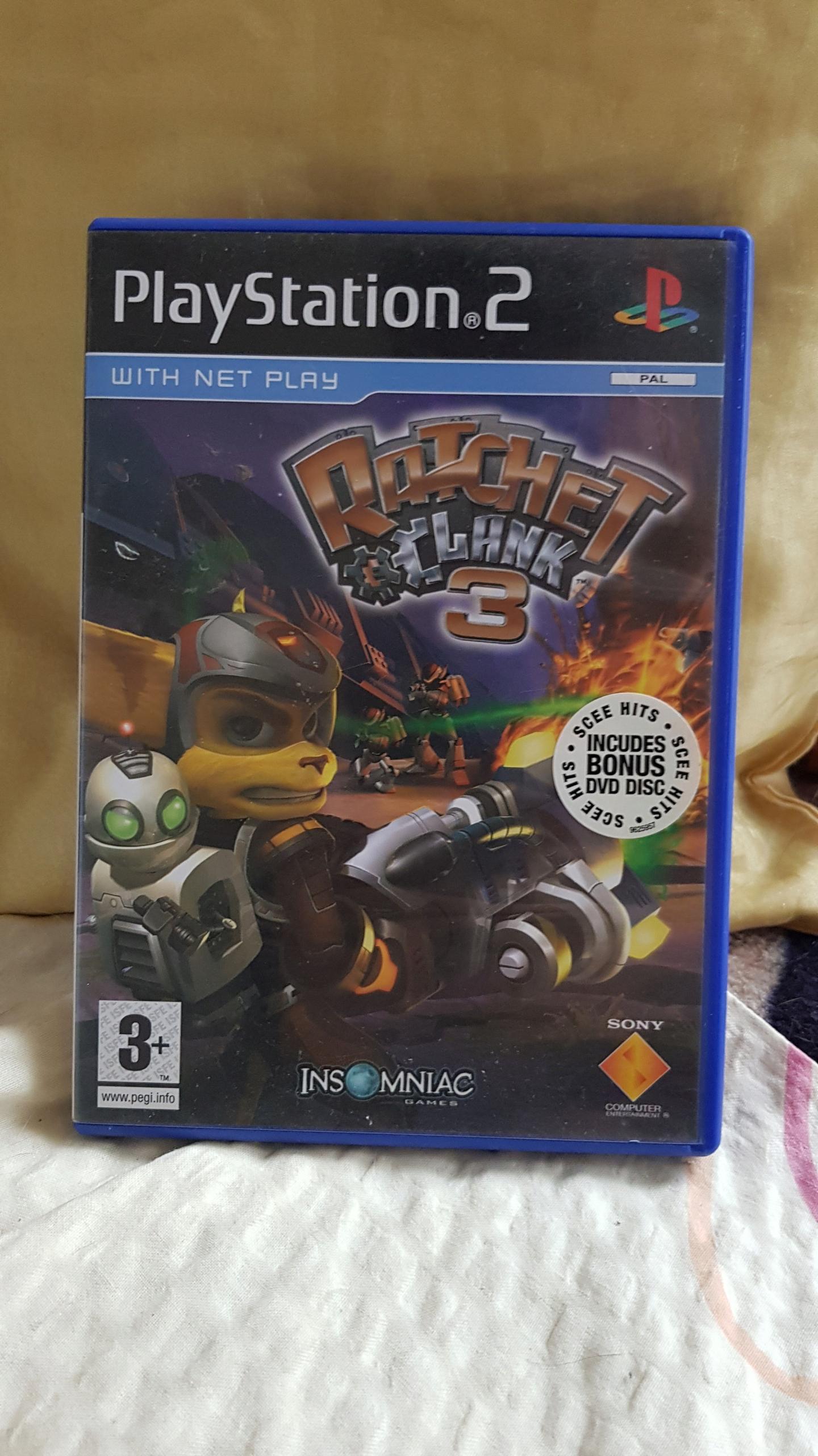 PS2 gra Ratchet Clank 3