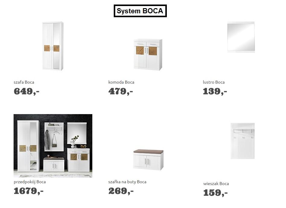 Przedpokój Boca Meble Do Przedpokoju Garderoba Brw