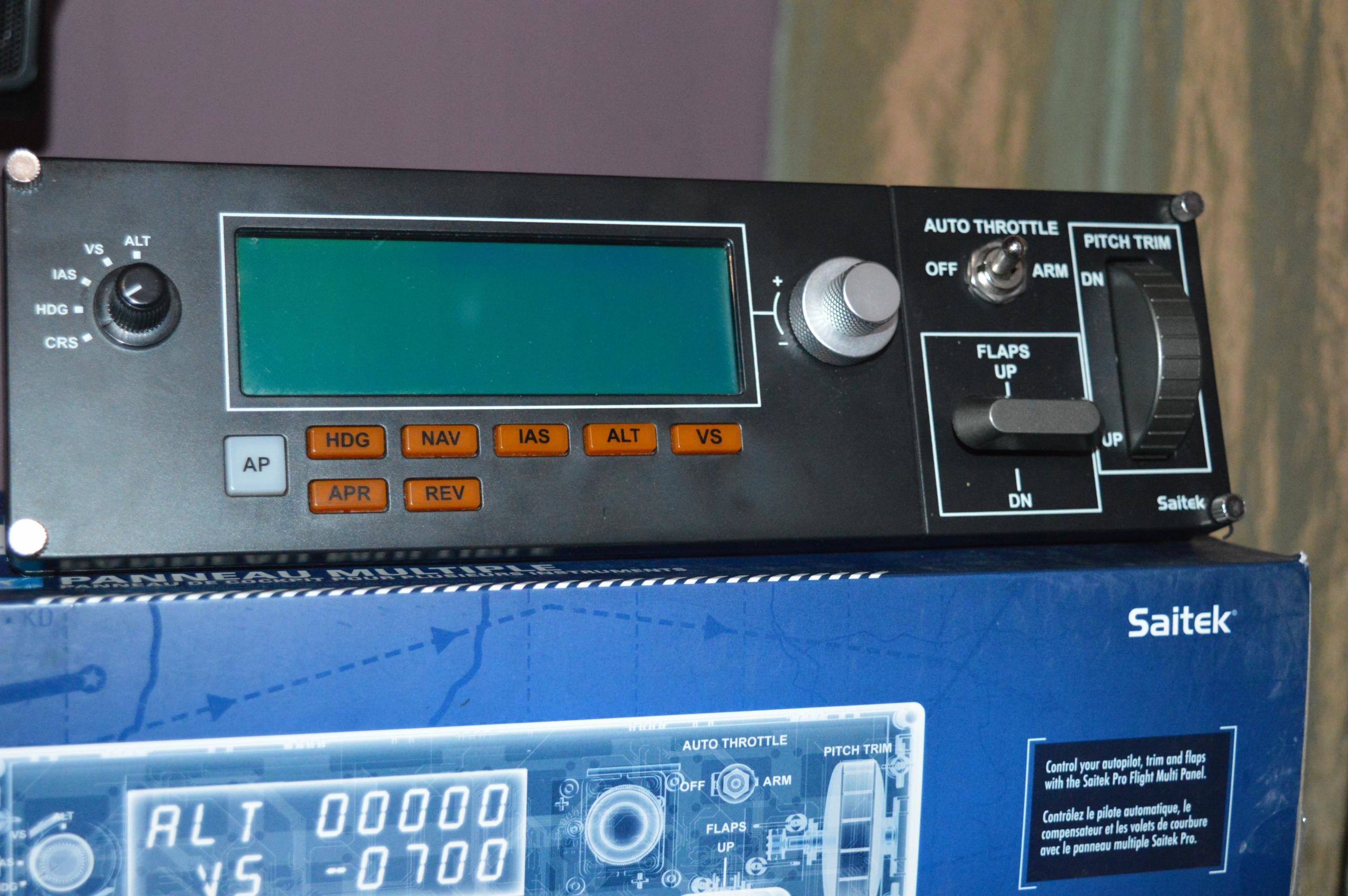 Logitech G Saitek Pro Flight Multi Panel - 7675656114