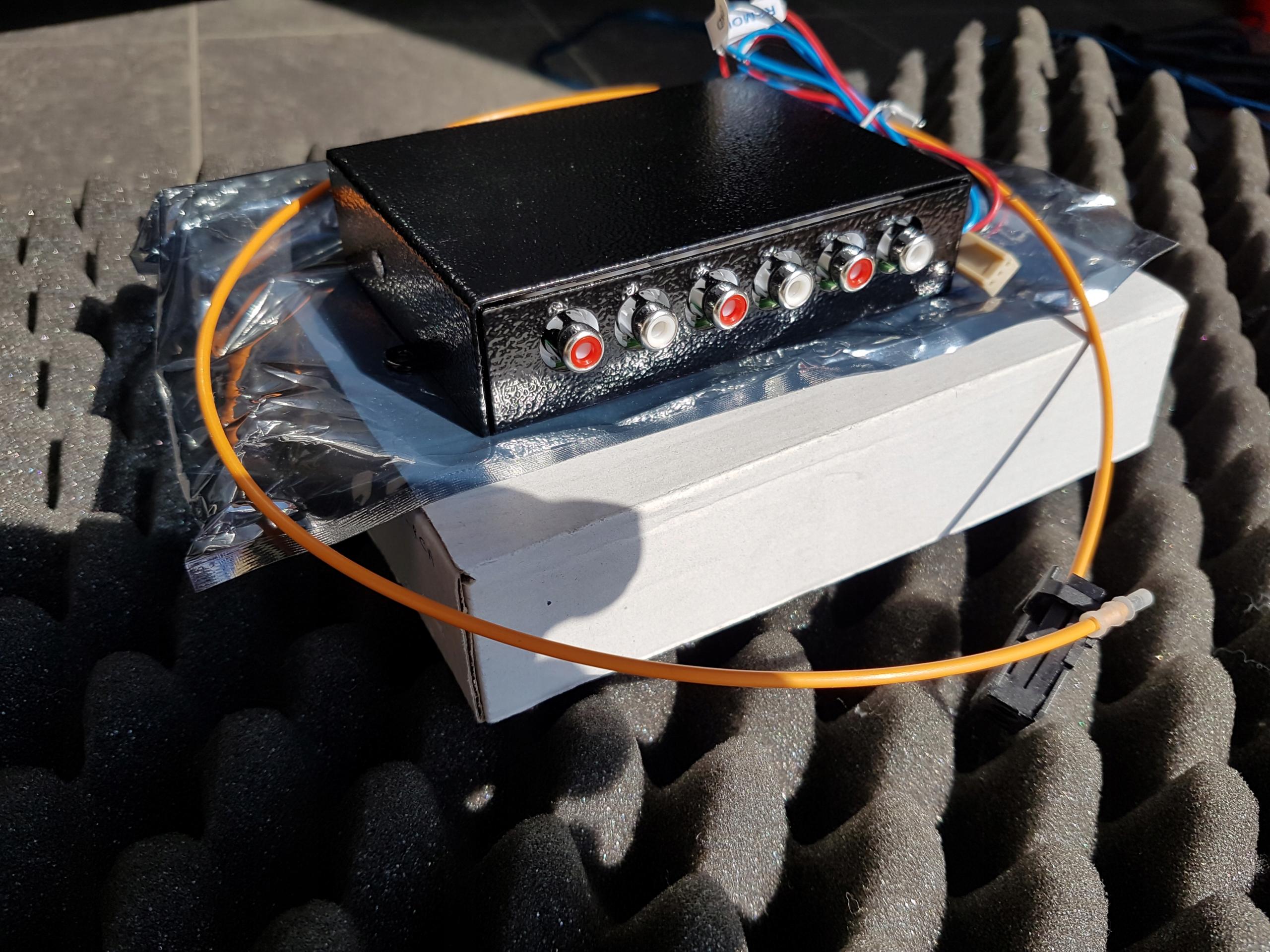 Interface audio MMI 3G. 6 kanałów . Nowy.Gwarancja