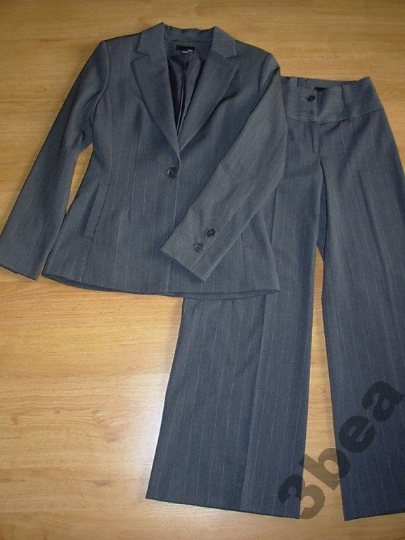 9354406998 Żakiet i spodnie Komplet klasyczny H M rozm 36 - 7010715398 ...