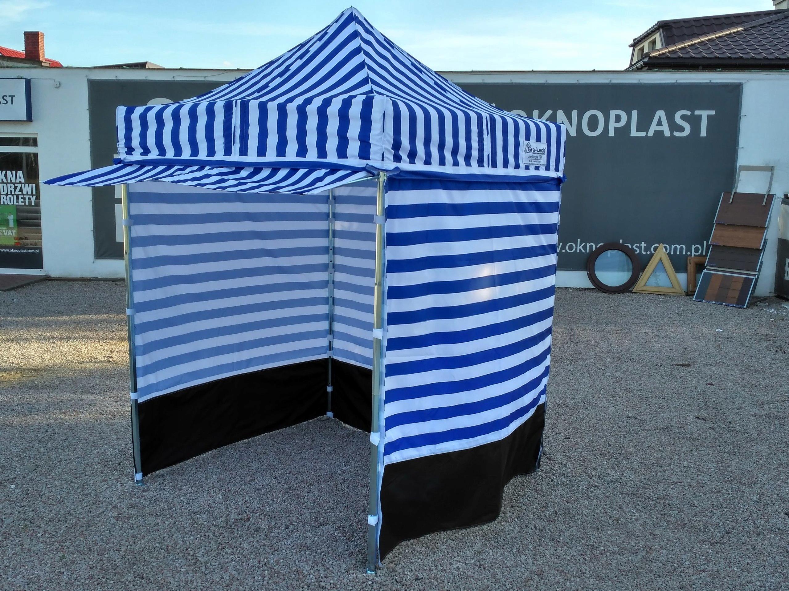 Wybitny Namiot Handlowy Pawilon ekspresowy 3,75 x 2,5 lech - 7507339335 IR91
