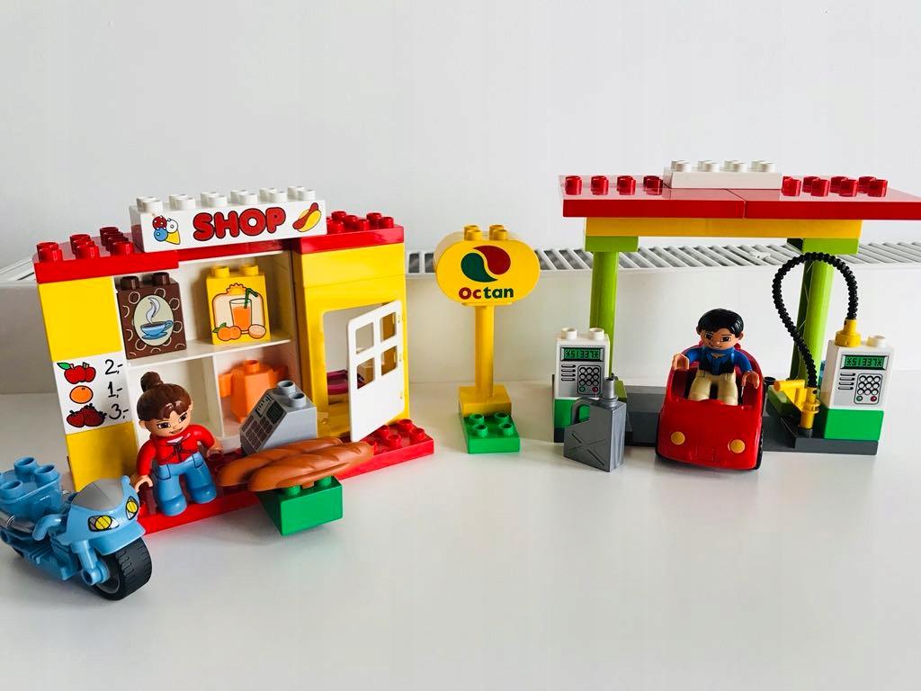 Klocki Lego Duplo Stacja Paliw Sklep Cpn 6171 7447371513