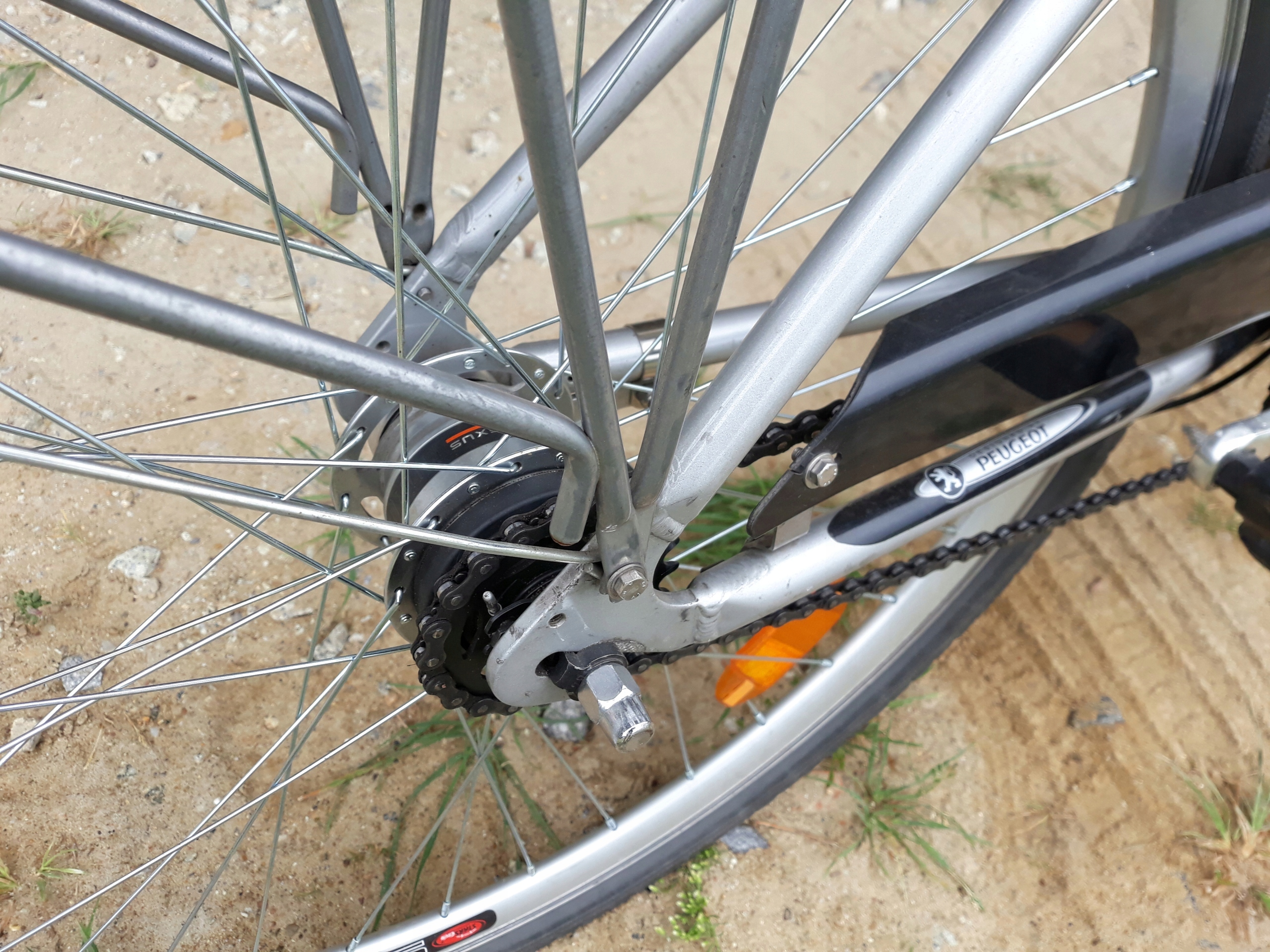 rower peugeot corona 7005 7 biegow aluminium - 7568853543