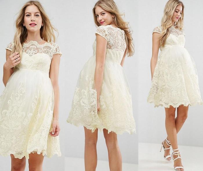 80a2b177 CHI CHI LONDON MATERNITY sukienka koronkowa 44 16