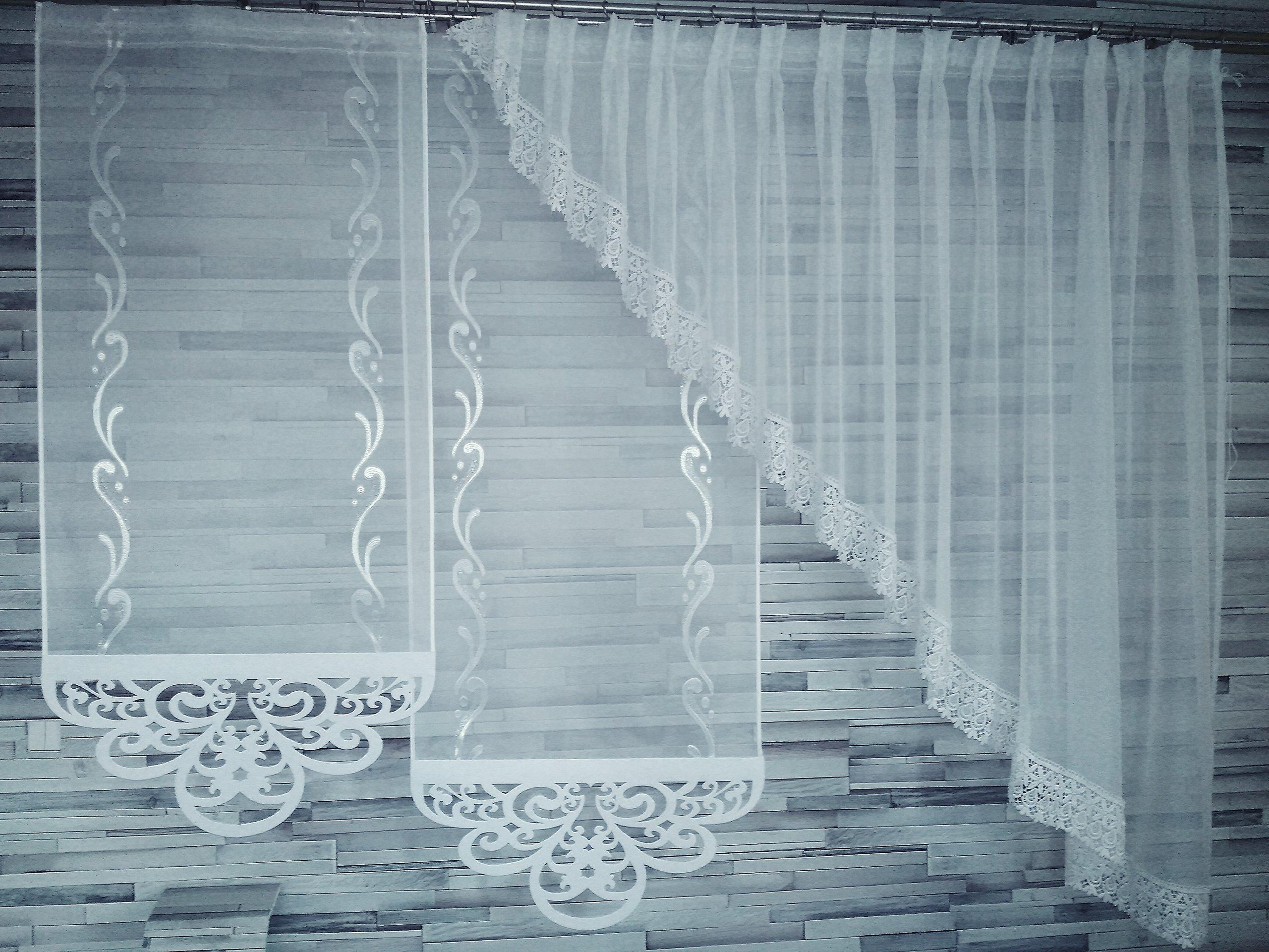 Panele Biały Woal Ażury Ażur Wyprzedaż Skos 6776085236