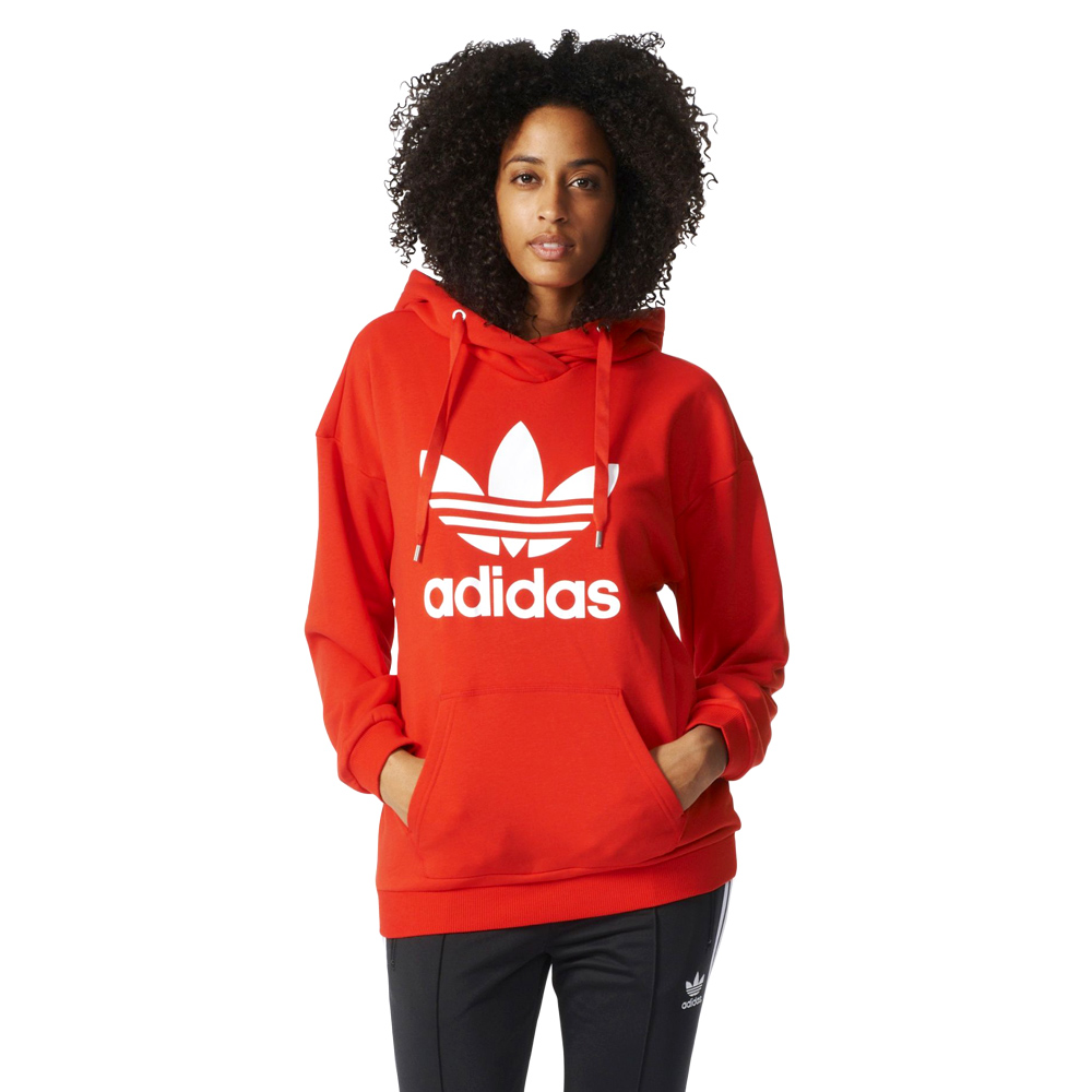 bluza adidas czerwona damska allegro