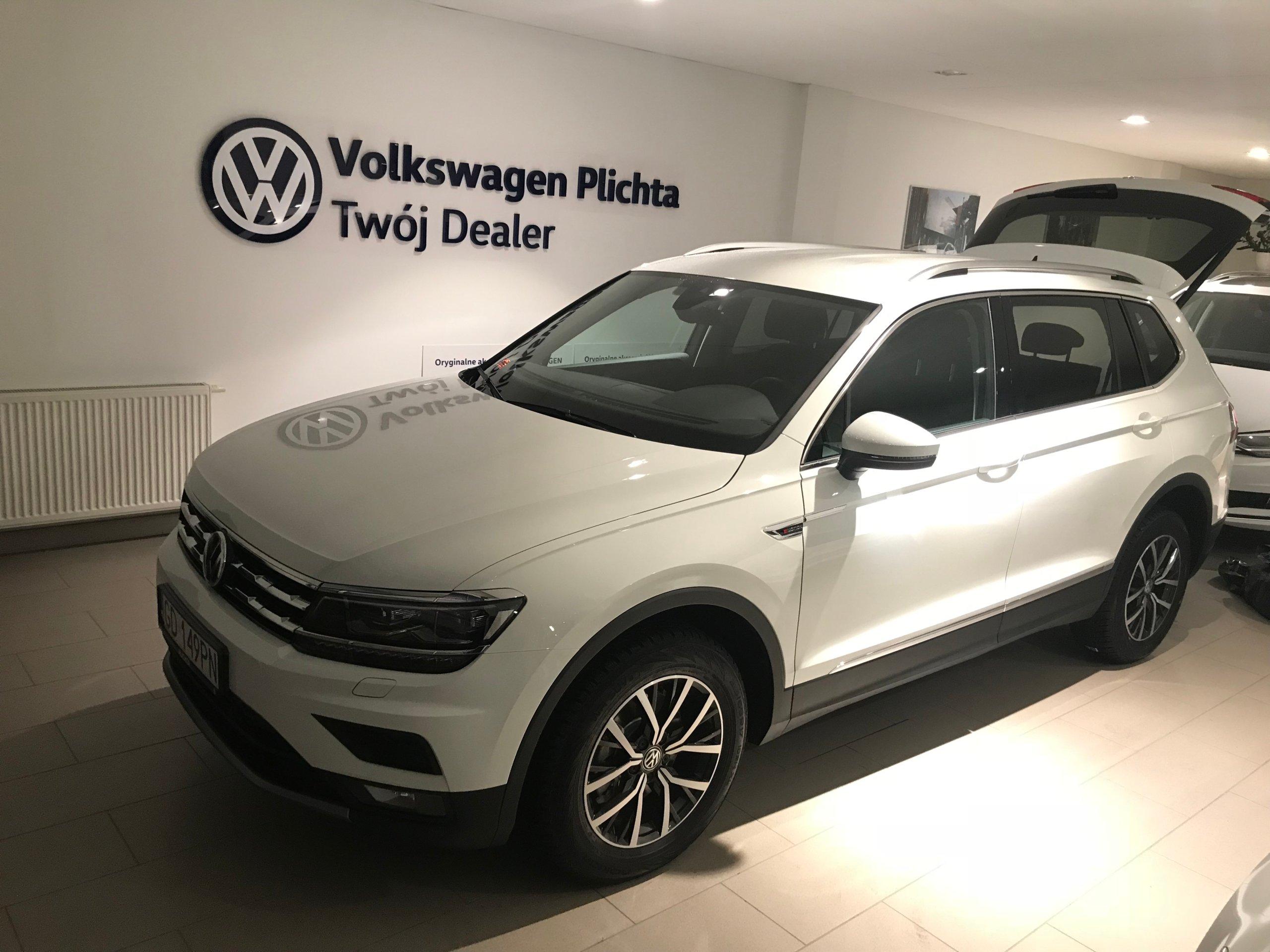 VW TIGUAN 2017 2.0 TDI 4MOTION wynajem bez BIK/BIG