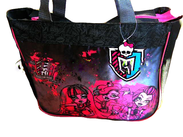 2d02349ab9116 FROZEN MONSTER HIGH TORBA NA RAMIĘ LISTONOSZKA A4 - 6776392338 ...