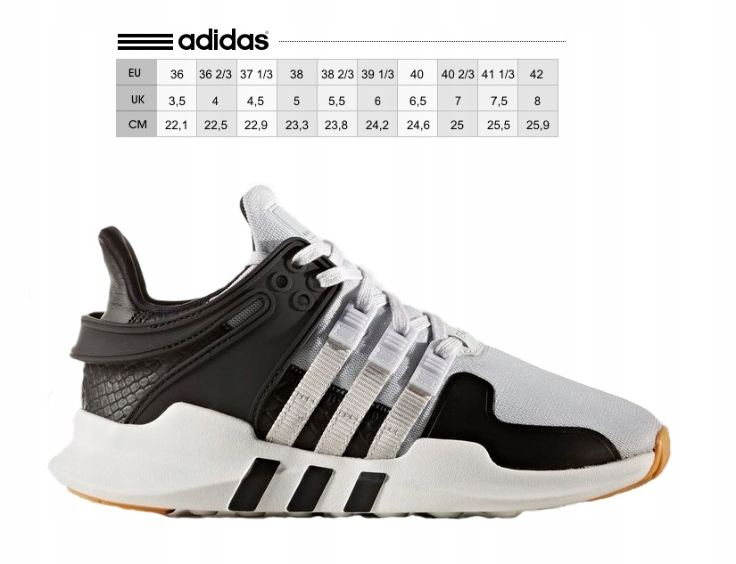 low priced 0b07e 77e8a 38 BUTY ADIDAS EQT SUPPORT BY2152 NOWOŚĆ (7447718613)
