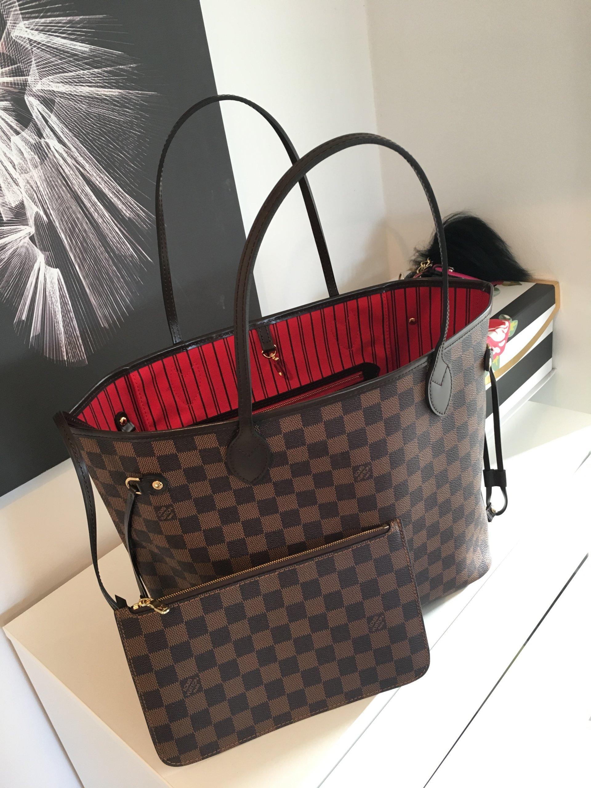 915dccaf1ec37 Klasyk Louis Vuitton Damier Neverfull MM idealna! - 7181257288 ...