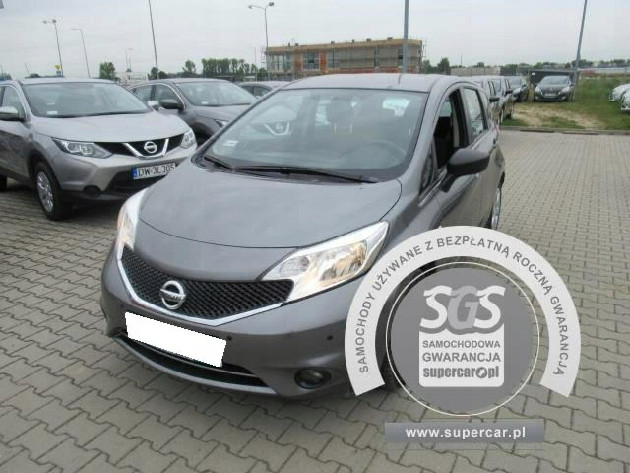 Nissan Note 1,5dCi Visia, 2015r, FV 23%, Gwarancja