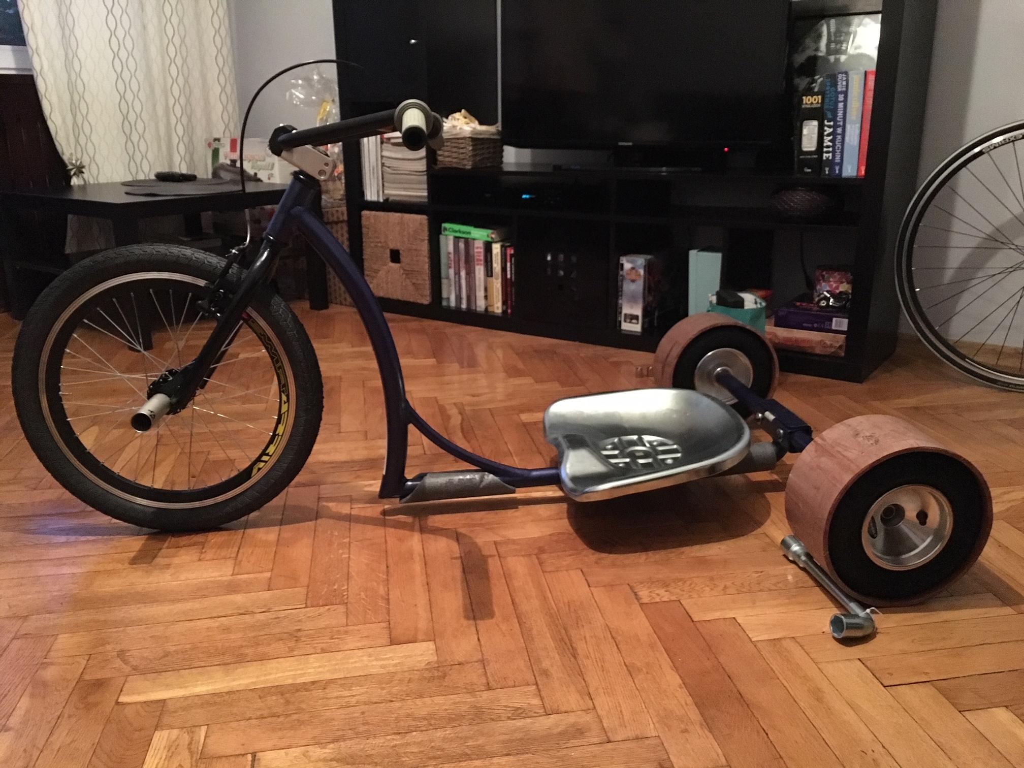 Drift Trike Trajka Dizzy Star Okazja Ideał 7116769024