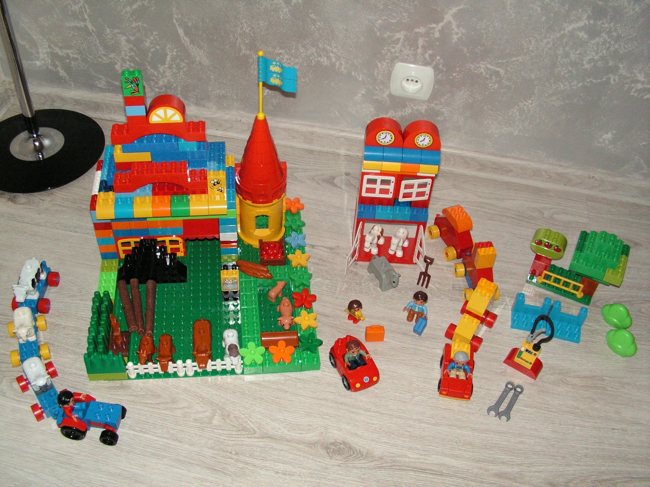 Klocki Lego Duplo I Play Big Bloxx Farma 7683021699 Oficjalne