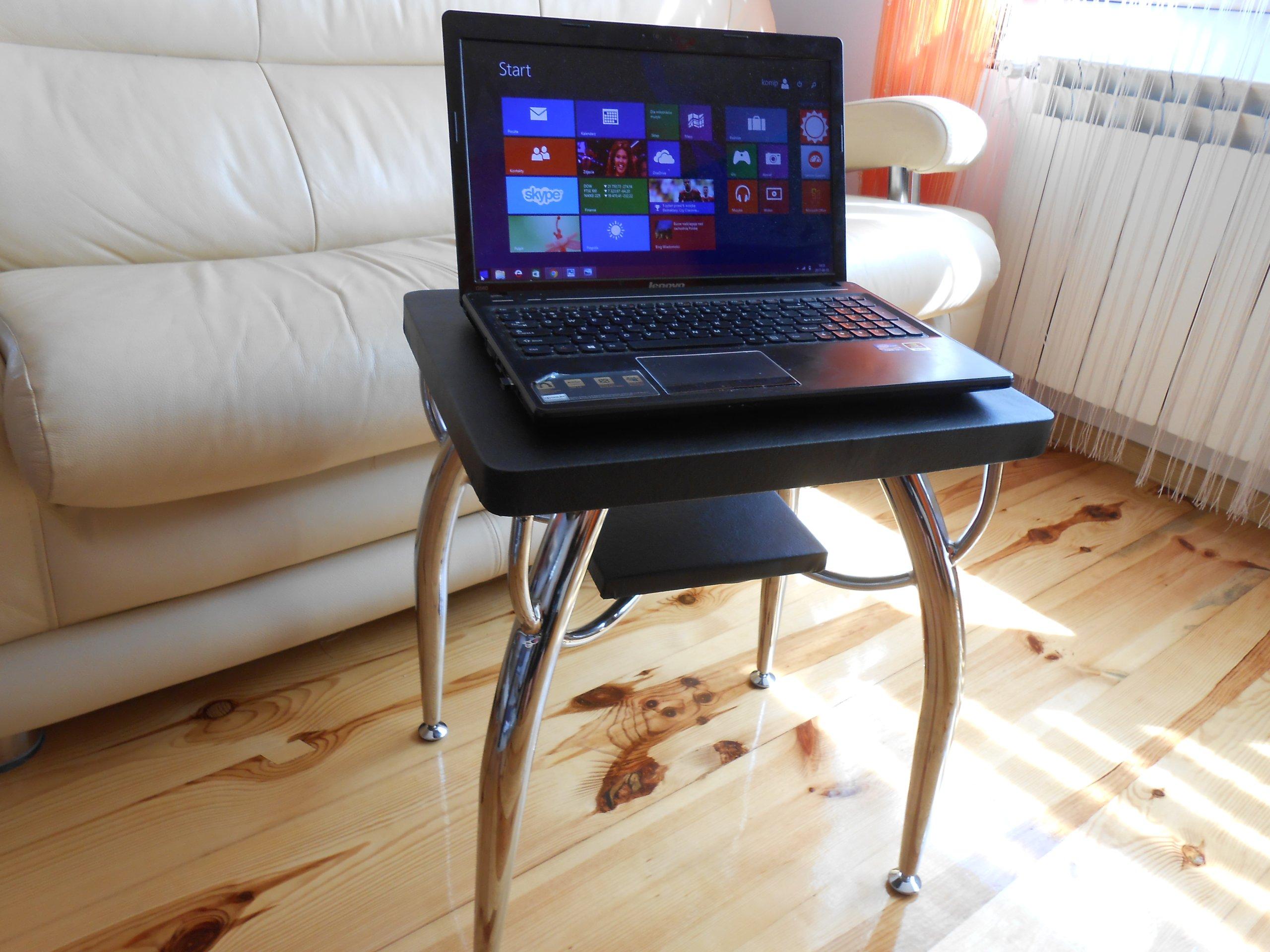 Ekskluzywny Stolik Pod Laptopa Czarny 7221529978 Oficjalne