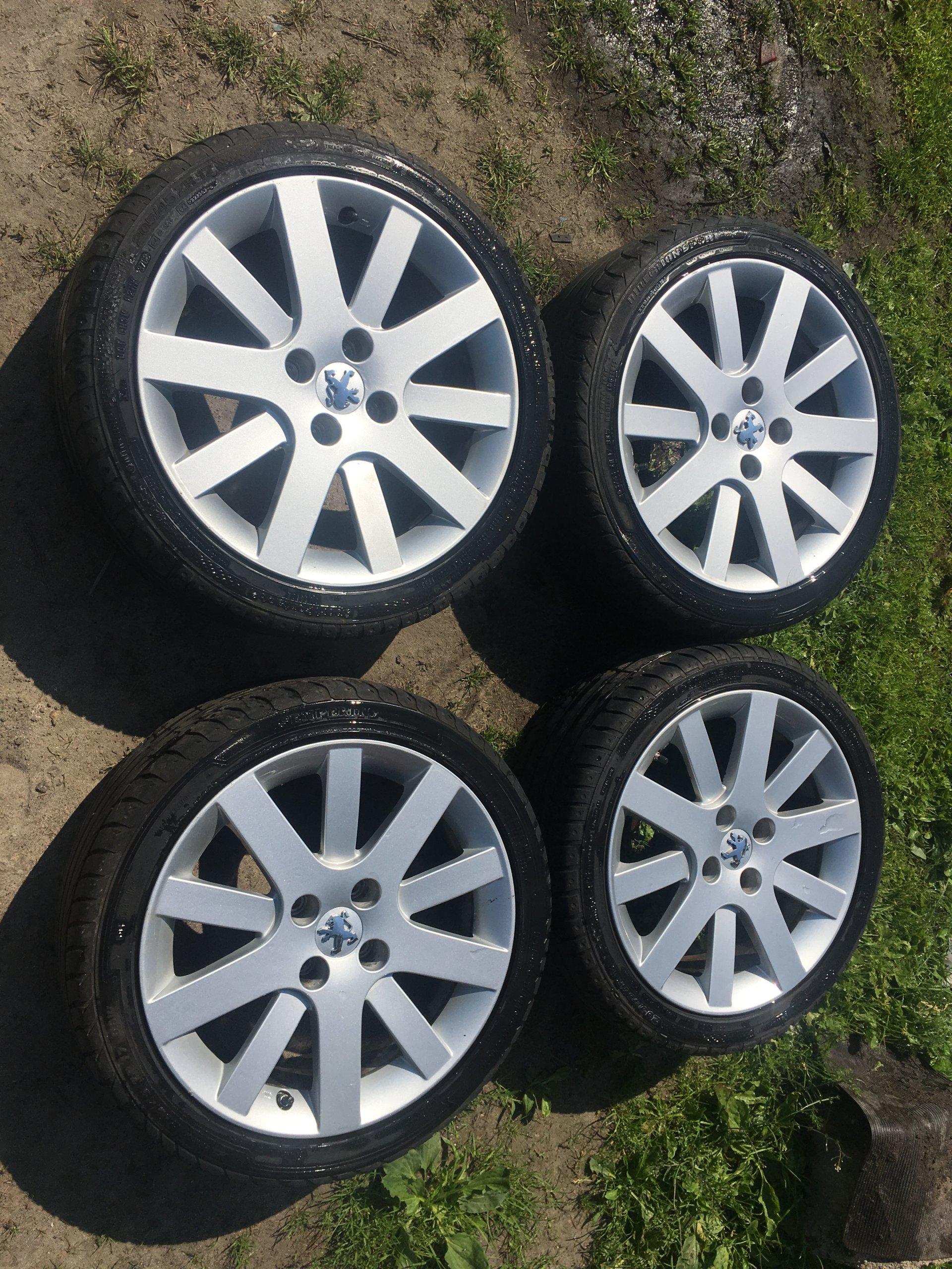 Koła Felgi 17 Opony Peugeot 207 307 308 20550r17 7408270475