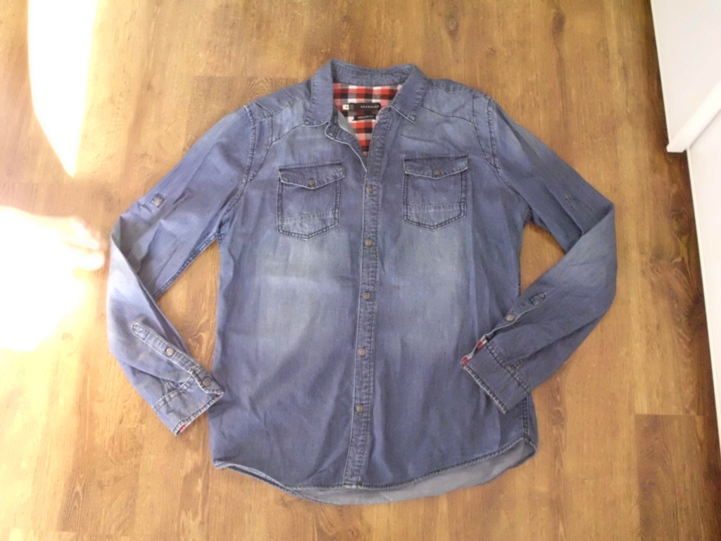 ab887eab koszula jeansowa RESERVED M 38 męska klasyczna - 7169229001 ...