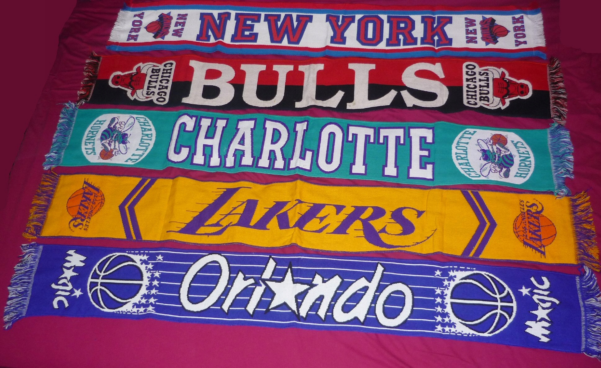 5 szali NBA, Chicago Bulls, Lakers, Orlando Magic