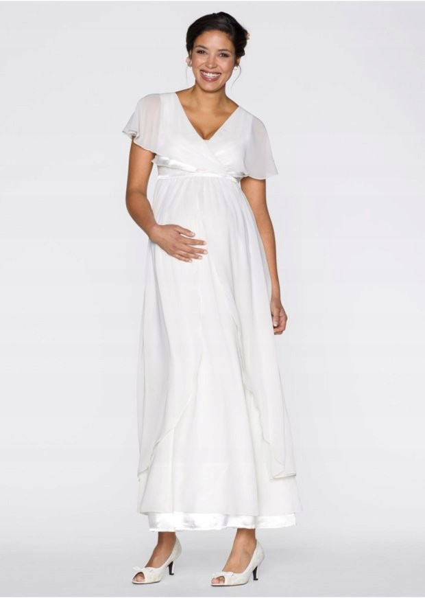 dacc7c6d Sukienka ciążowa wieczorowa/ślubna Bonprix - 7338331816 - oficjalne ...