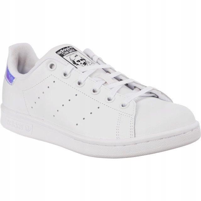 Białe Skórzane Buty Damskie Sportowe Adidas rozmiar 43 13