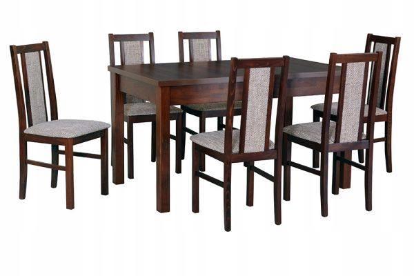 Stół rozkładany + 6 krzeseł DOSTAWA DO ŚWIĄT