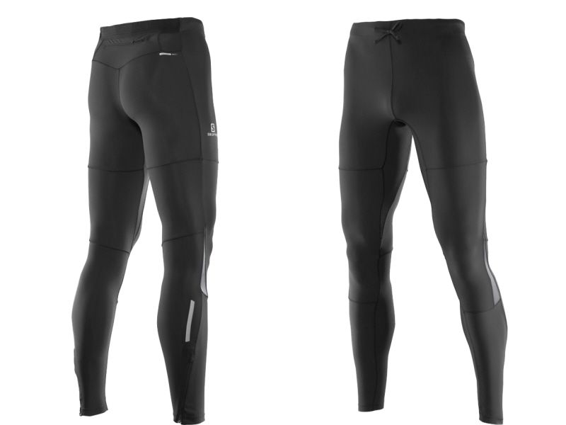 LEGGINSY MĘSKIE PULSE WARM SALOMON TIGHT XXL