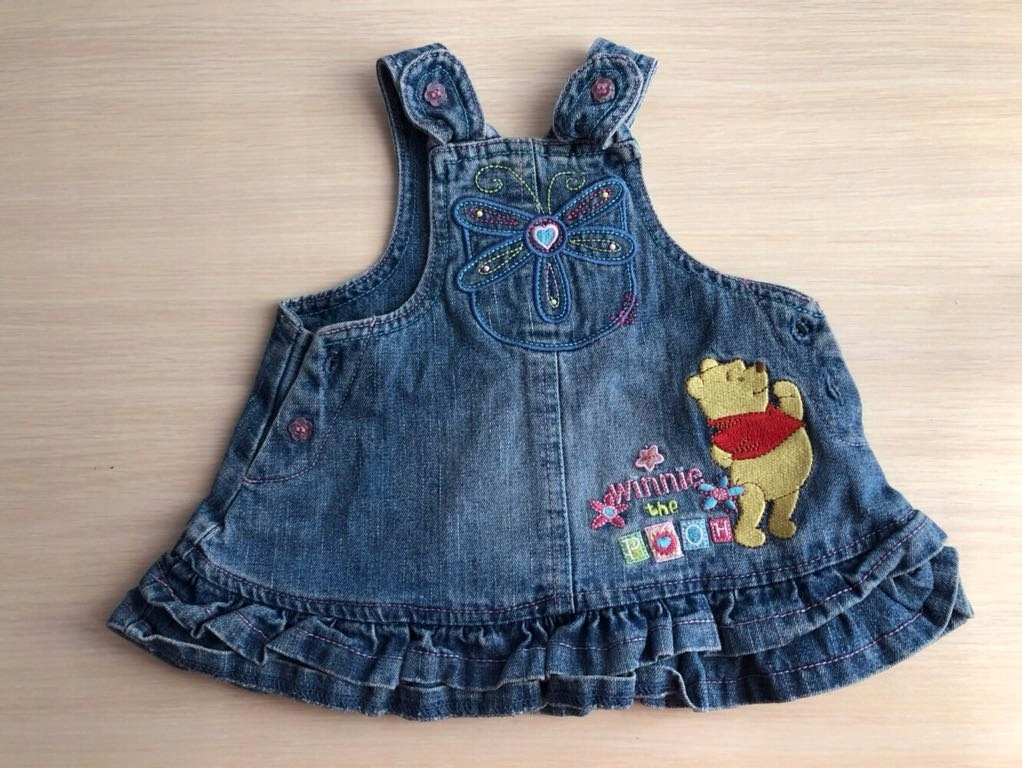 a09406ef33 Jeansowa sukienka dla dziewczynki rozm. 56 Disney - 7567836935 ...