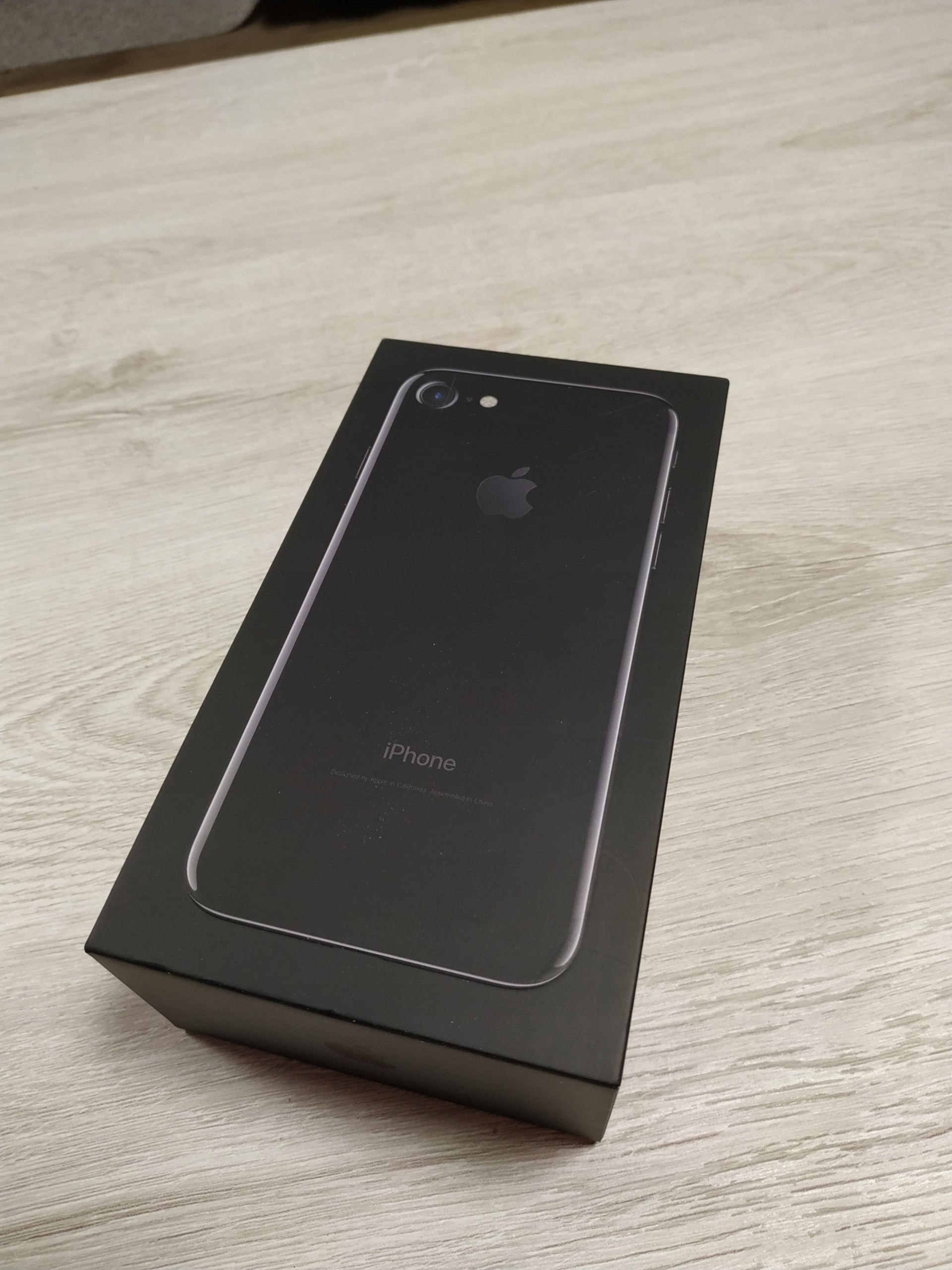 Apple IPHONE 7 32GB Jet Black NOWY + Akcesoria