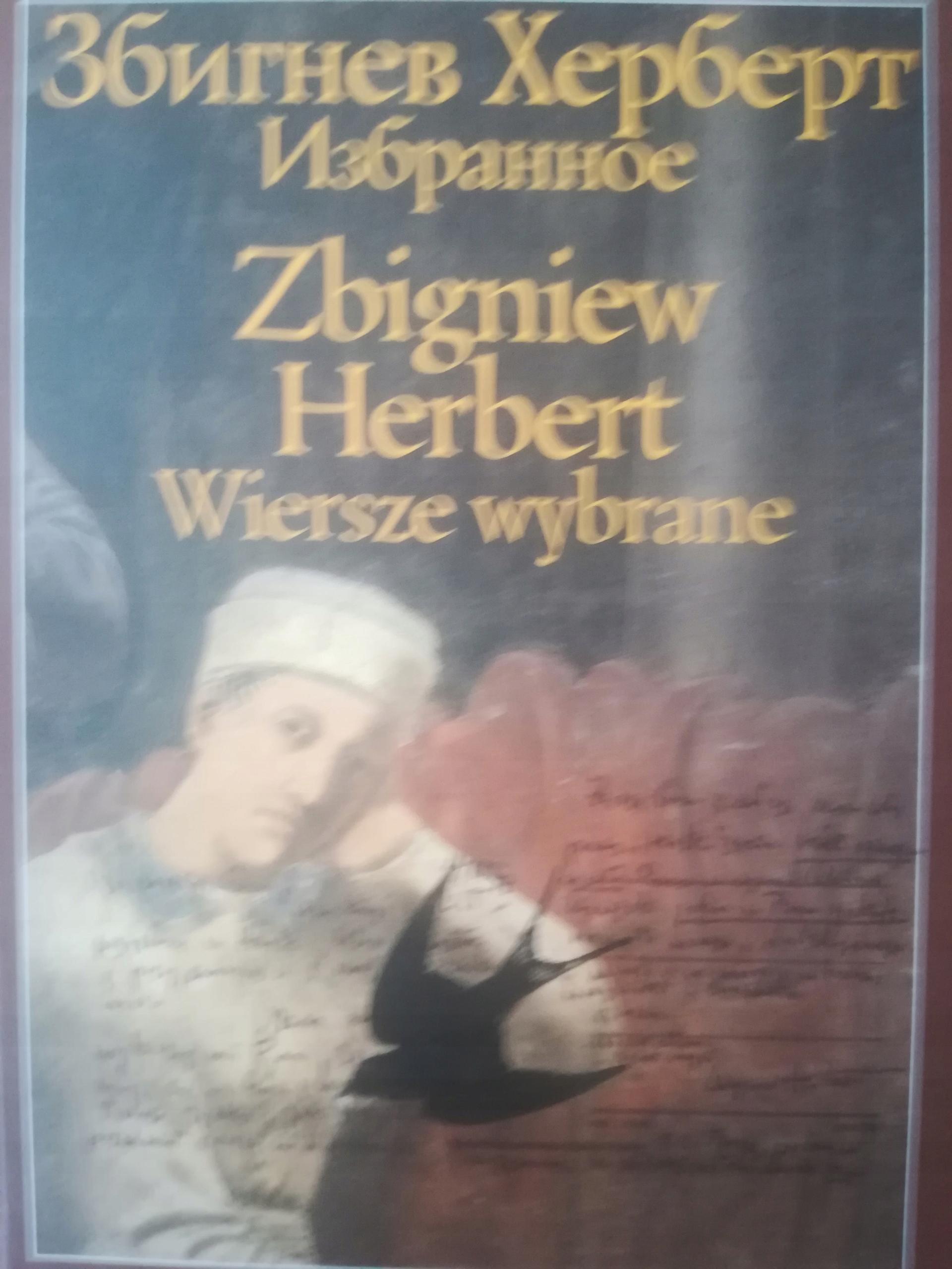 Wiersze Wybrane Zbigniew Herbert Polsko Rosyjskie