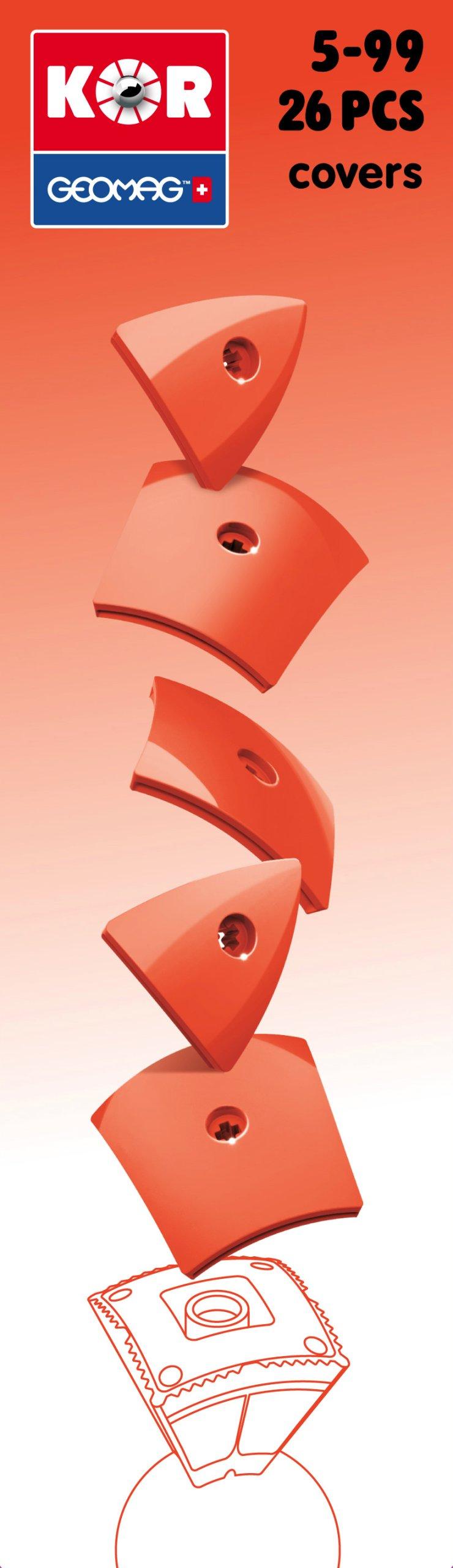 Geomag KOR 2 0 Pantone 485 (bright red) - COVER - 7173198525