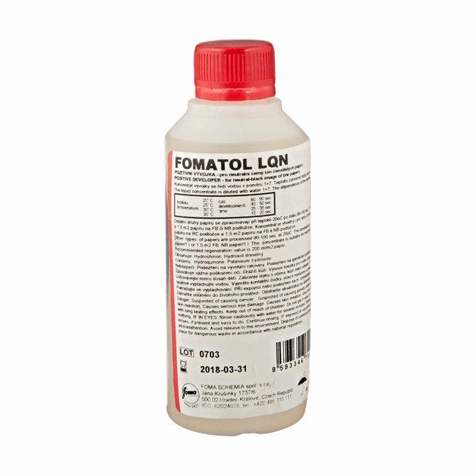 FOMA wywoływacz FOMATOL LQN 0,25 l (pozytywowy)