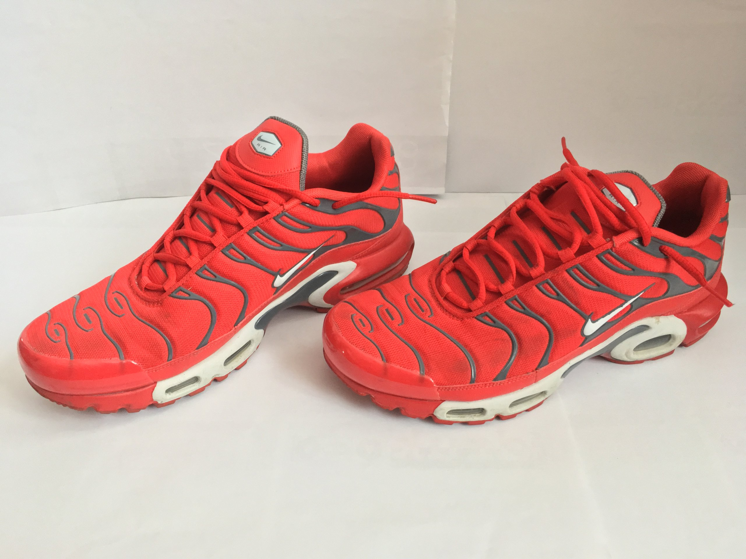 e570db249 new style nike air max plus tn tn1 852630 600 r.46 red grey 0e5fd