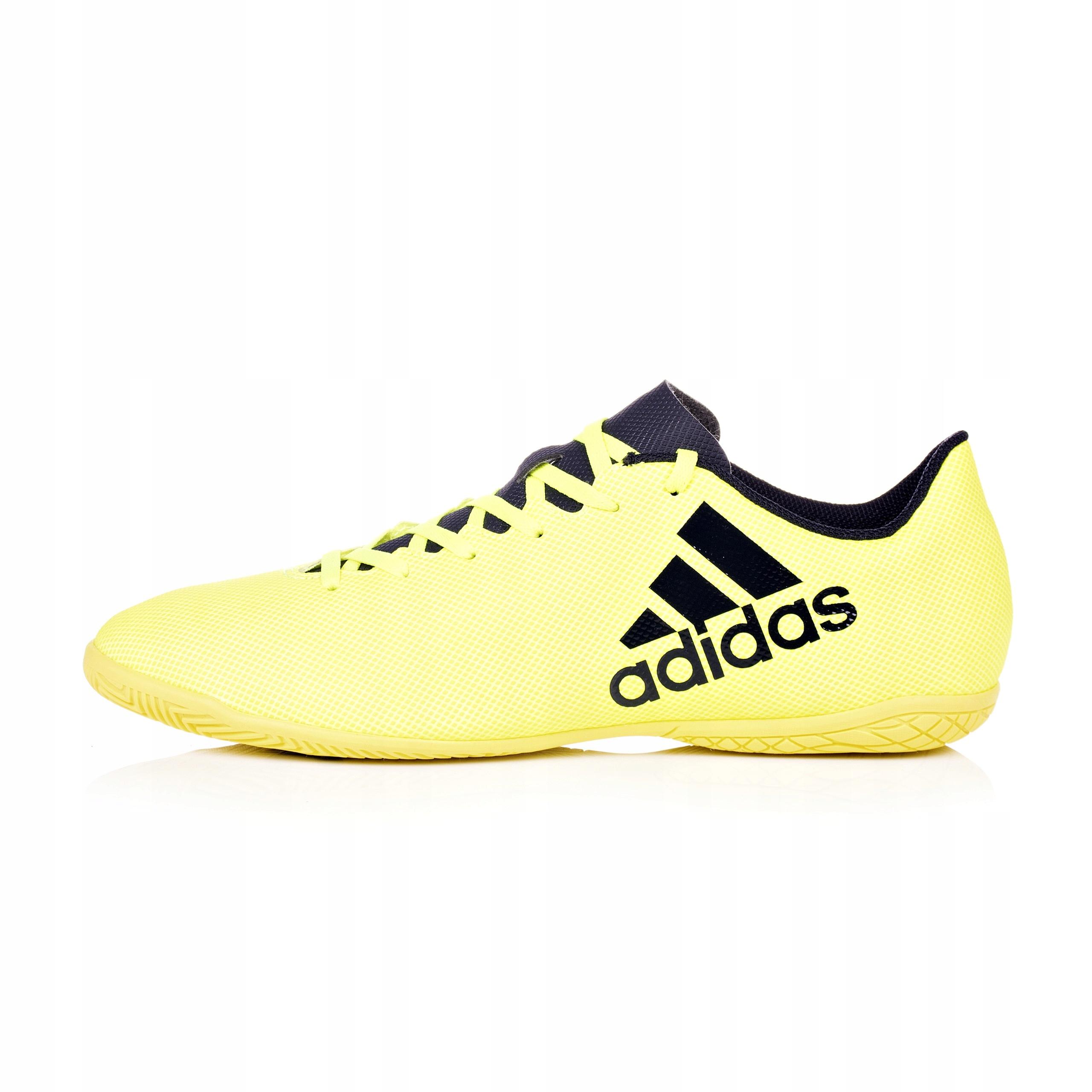 Buty piłkarskie halówki adidas X 17.4 żółte S82407
