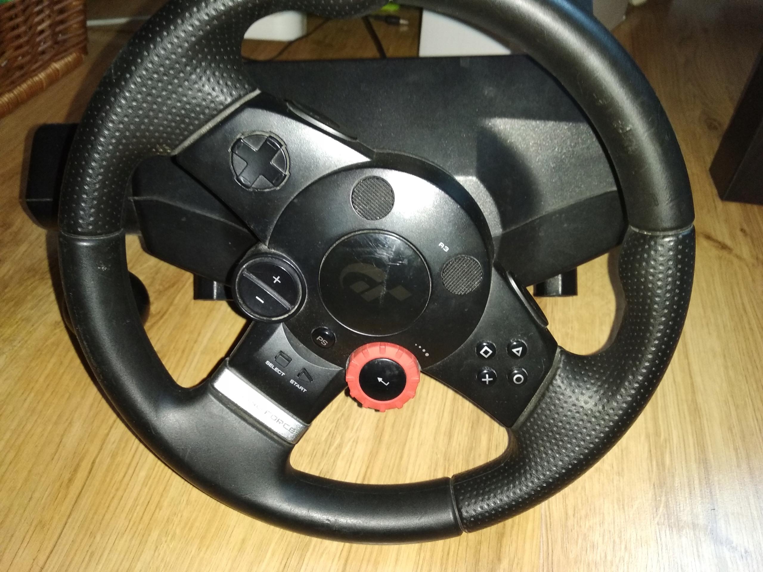 KIEROWNICA LOGITECH DRIVING FORCE GT PC / PS3