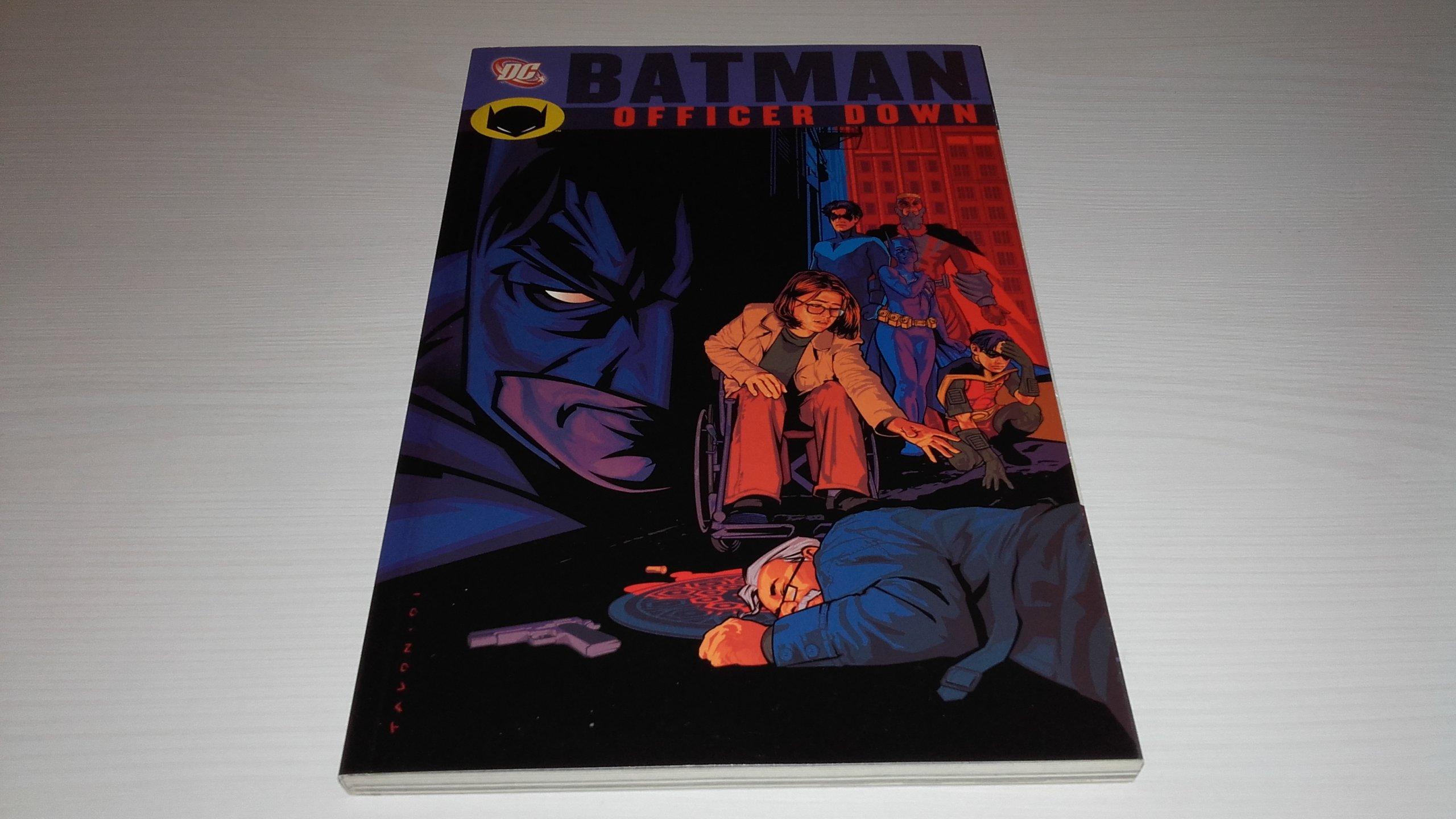 BATMAN: OFFICER DOWN TPB. PALMIOTTI