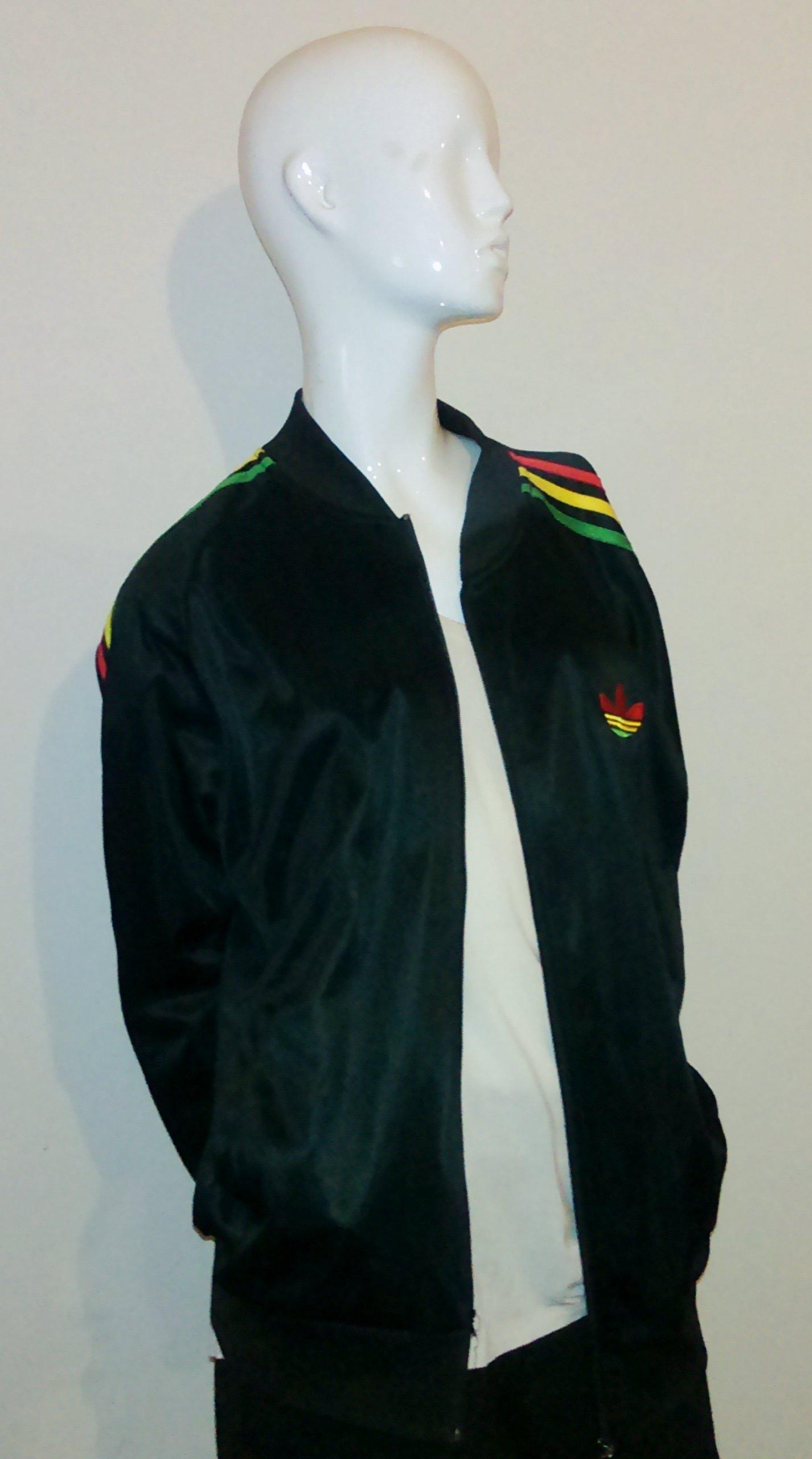 Kup online wyprzedaż hurtowa oferować rabaty bluza ADIDAS rozmiar M logo z tyłu RASTA - 7094498887 ...