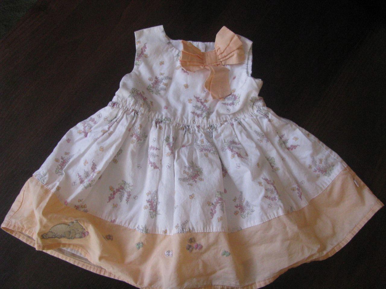 65deb31cf1 Śliczna Letnia  Sukienka 0-3 56 CM - 7506936860 - oficjalne archiwum ...