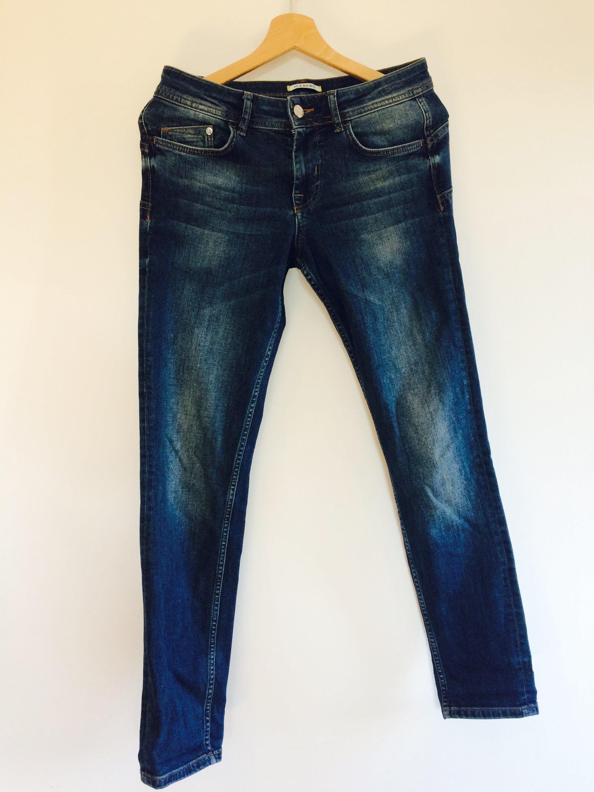 b760219046d6 Spodnie damskie markowe jeans ICEBERG - 7638973180 - oficjalne ...