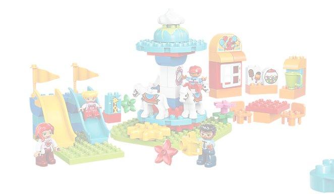 10841 Klocki Lego Duplo Wesołe Miasteczko 7299261669 Oficjalne