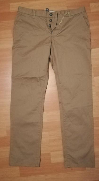 Next Straight bawełniane spodnie 34/31 Nowe