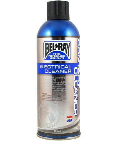 Spray do styków BEL-RAY CONTACT CLEANER 400ML