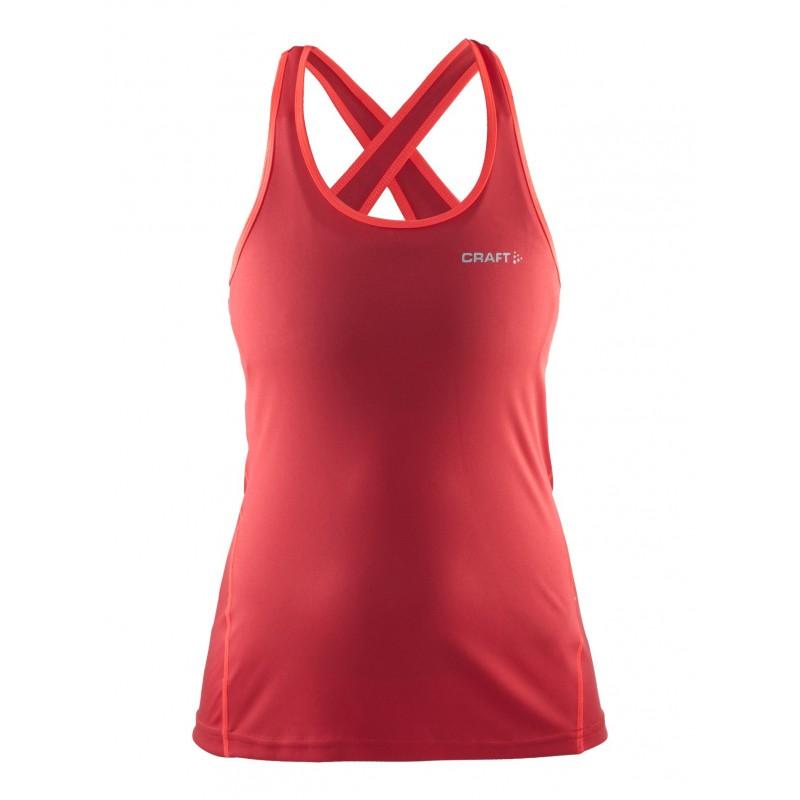 Craft koszulka damska singlet W czerwona
