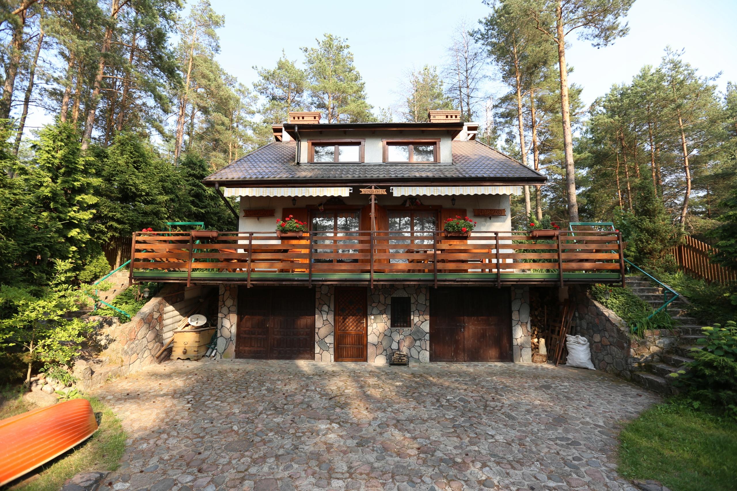 Dom nad jeziorem Kalwa - SYLWESTER NA MAZURACH