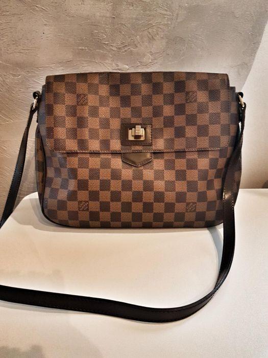 f030610f26378 Piękna torebka Louis Vuitton lv skóra naturalna nu - 7085732777 ...