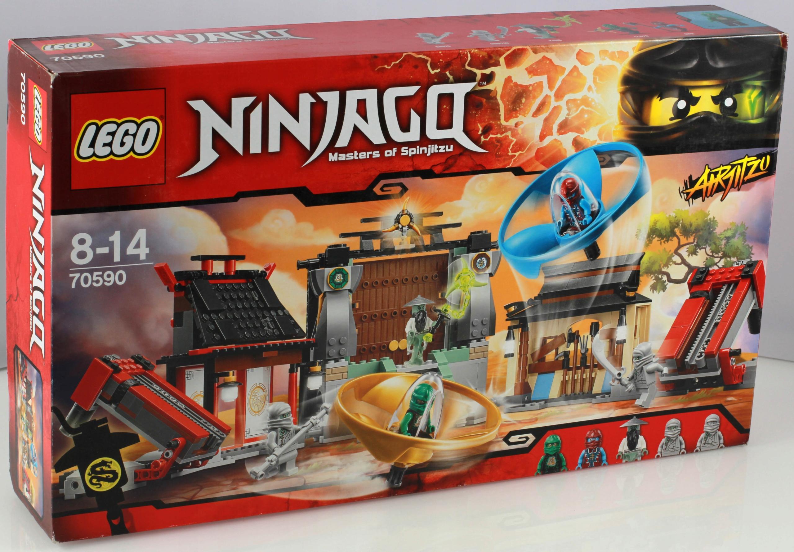Lego 70590 Ninjago Plac Bitewny Airjitzu Promocja 7688314177
