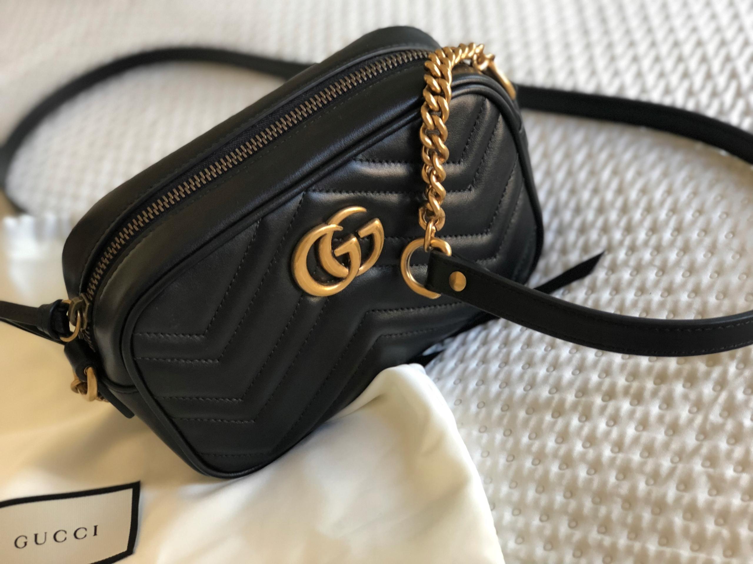 e11edd1235dbb Torebka Gucci GG Marmont Oryginalna - 7755127270 - oficjalne ...