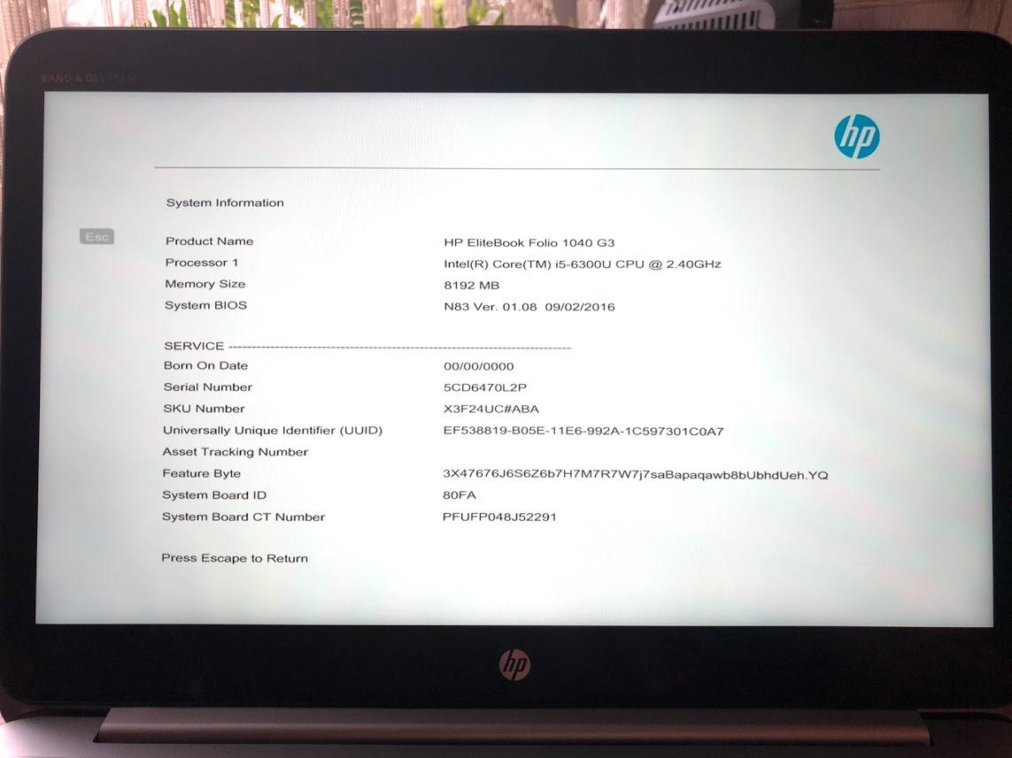 HP EliteBook Folio 1040 G3 i5 256GB SSD QHD+ IPS - 7271533146