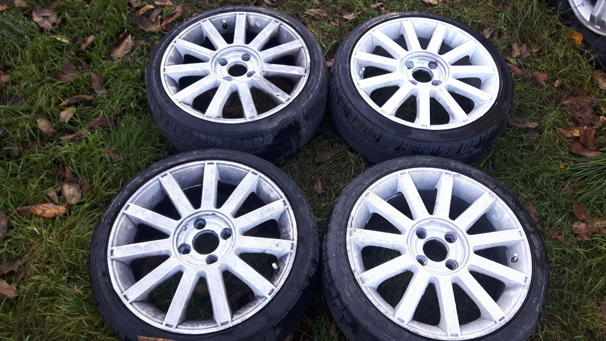 Felgi Aluminiowe Ford Fiesta Mk6 St 17 Opony 6952579378