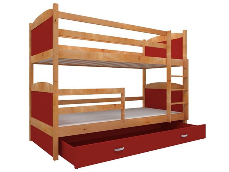 łóżko Piętrowe Mati 2 Osobowe Materace Tanio